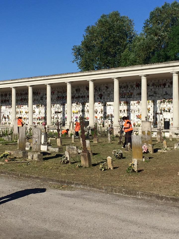 cimitero ospedaletto giornata ecologica